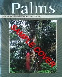 Palms Journal 2 - Catalog No. PJ2